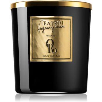 Teatro Fragranze Oro lumânare parfumată