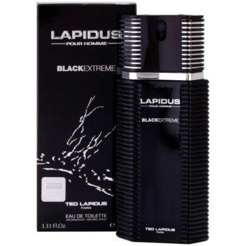 Ted Lapidus Lapidus Pour Homme Black Extreme туалетна вода для чоловіків 1