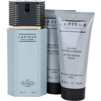 Ted Lapidus Lapidus Pour Homme coffret presente 2