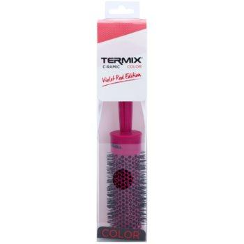 Termix Ceramic Color Violet Red Edition escova de cabelo 1