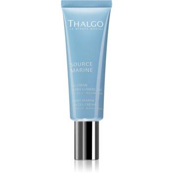 Thalgo Source Marine crema gel hidratanta cu textura usoara pentru o piele mai luminoasa