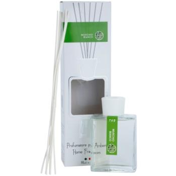 THD Platinum Collection Muschio Bianco aroma difuzor s polnilom