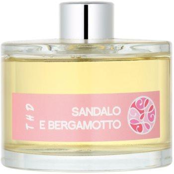 THD Platinum Collection Sandalo E Bergamotto aroma difuzor cu rezervã