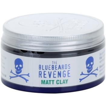 Fotografie The Bluebeards Revenge Hair & Body tvarující matná hlína do vlasů 100 ml