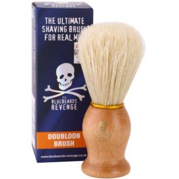 The Bluebeards Revenge Shaving Brushes Doubloon Brush Pamatuf pentru barbierit 1