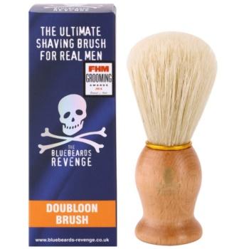 The Bluebeards Revenge Shaving Brushes Doubloon Brush Pamatuf pentru barbierit 2