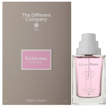 The Different Company L'Esprit Cologne Kâshân Rose Eau de Toilette para mulheres  recarregável