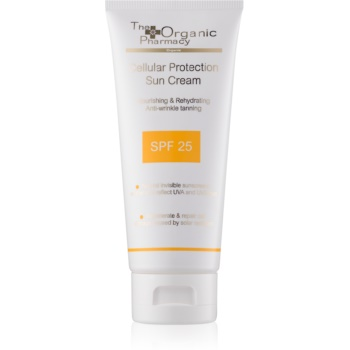 The Organic Pharmacy Sun crema pentru bronzat SPF 25