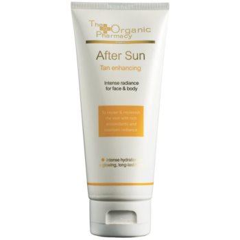 The Organic Pharmacy Sun crema dupa bronzat corp si fata