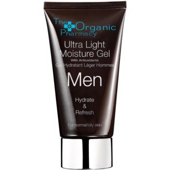 The Organic Pharmacy Men crema gel hidratanta cu textura usoara pentru piele normala si grasa