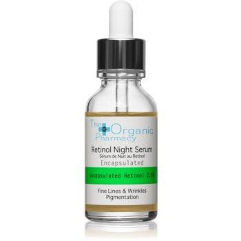 The Organic Pharmacy Fine Lines & Wrinkles ser antirid cu retinol pipeta