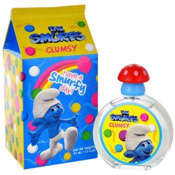 The Smurfs Clumsy Eau de Toilette pentru copii