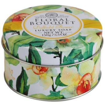 The Somerset Toiletry Co. Floral Bouquet Daffodil Flower sabão luxuoso em barra 4
