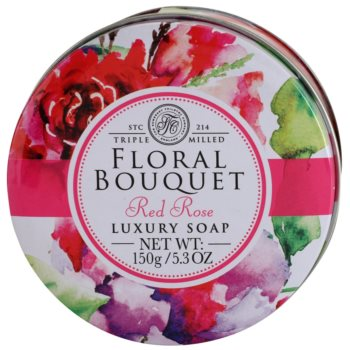 The Somerset Toiletry Co. Floral Bouquet Red Rose luxusné tuhé mydlo 3