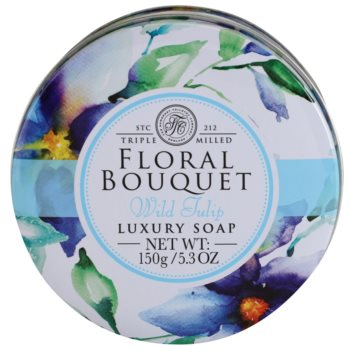 The Somerset Toiletry Co. Floral Bouquet Wild Tulip luxuriöse Feinseife 3
