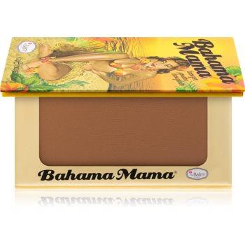 theBalm Bahama Mama bronzer, fard de ochi si pudra pentru contur intr-unul singur imagine produs
