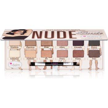 theBalm Nude Dude paleta farduri de ochi cu pensula imagine produs