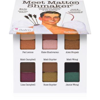 theBalm Meet Matt(e) Shmaker paleta farduri de ochi poza
