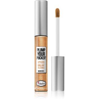 theBalm Plump Your Pucker luciu de buze cu particule de colagen marin imagine produs