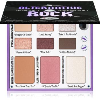 theBalm Alternative Rock Vol. 1 paleta pentru fata multifunctionala imagine produs
