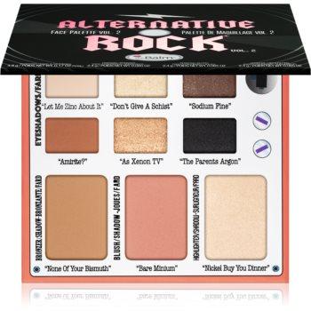 theBalm Alternative Rock Vol. 2 paleta pentru fata multifunctionala imagine produs