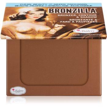 theBalm Bronzilla® bronzer, fard de ochi si pudra pentru contur intr-unul singur imagine produs