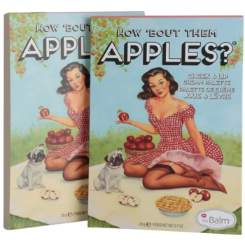 theBalm How 'Bout Them Apples? палитра от кремави ружове и червила 3