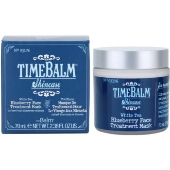 theBalm TimeBalm Skincare Blueberry Face Treatment Mask pflegende Maske