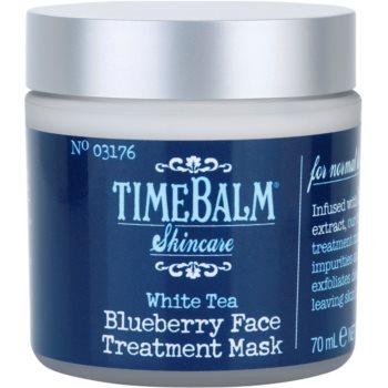 theBalm TimeBalm Skincare Blueberry Face Treatment Mask pflegende Maske 1