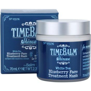 theBalm TimeBalm Skincare Blueberry Face Treatment Mask pflegende Maske 3