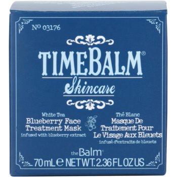 theBalm TimeBalm Skincare Blueberry Face Treatment Mask pflegende Maske 4