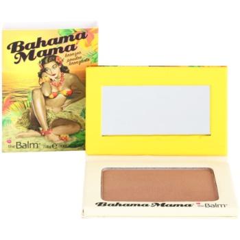 theBalm Bahama Mama bronzer, fard de ochi si pudra pentru contur intr-unul singur  7,08 g