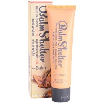 theBalm BalmShelter creme hidratante com cor  SPF 18 2
