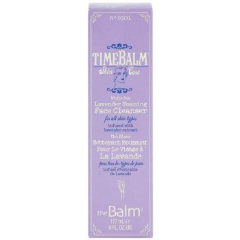 theBalm TimeBalm Skincare Lavender Foaming Face Cleanser пенлив почистващ гел за всички типове кожа на лицето 1