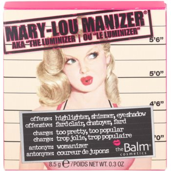 theBalm Mary - Lou Manizer Highlighter, Shimmer And Shadows In One 3