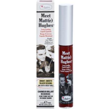 theBalm Meet Matt(e) Hughes dolgoobstojna tekoča šminka 2