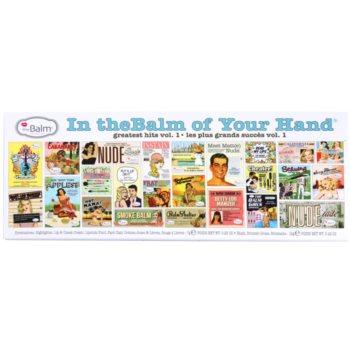 theBalm In theBalm of Your Hand® палетка декоративної косметики 3