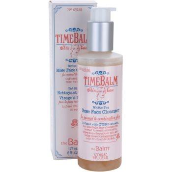 theBalm TimeBalm Skincare Rose Face Cleanser sanfte Reinigungsemulsion für normale bis fettige Haut 2