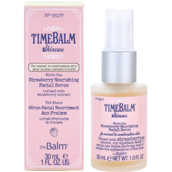 theBalm TimeBalm Skincare Strawberry Nourishing Facial Serum hranljivi serum