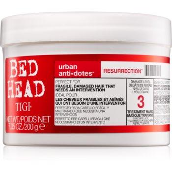 TIGI Bed Head Urban Antidotes Resurrection oživující maska pro poškozené a křehké vlasy 200 g