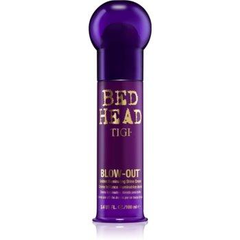 TIGI Bed Head Blow-Out schimmernde Goldcreme für glatte Haare 100 ml