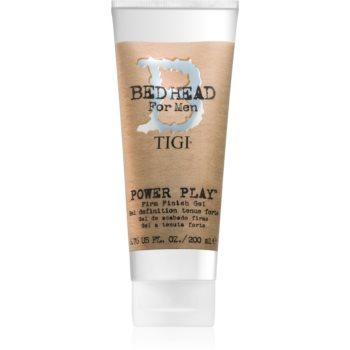 TIGI Bed Head B for Men Power Play stylingový gel silné zpevnění 200 ml