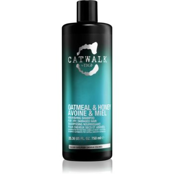 TIGI Catwalk Oatmeal & Honey vyživující šampon pro suché a zcitlivělé vlasy 750 ml