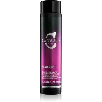TIGI Catwalk Headshot regenerační šampon pro chemicky ošetřené vlasy 300 ml