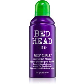 TIGI Bed Head Foxy Curls spumã fixatoare pentru onduleuri extreme imagine produs