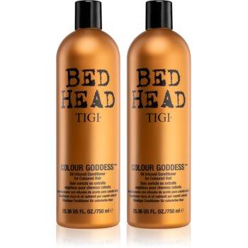 TIGI Bed Head šampon pro barvené vlasy 750 ml + kondicionér pro barvené vlasy 750 ml kosmetická sada