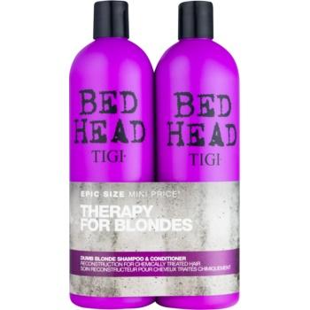 TIGI Bed Head Dumb Blonde set cosmetice VII.
