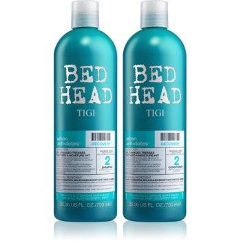TIGI Bed Head šampon pro suché a poškozené vlasy 750 ml + kondicionér pro suché a poškozené vlasy 750 ml kosmetická sada