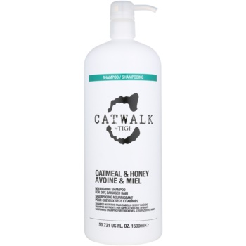 TIGI Catwalk Oatmeal & Honey sampon hranitor pentru par uscat si sensibil