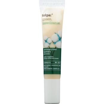 Tołpa Green Moisturizing beruhigende Augencreme Cotton, Iris (Hypoallergenic) 15 ml